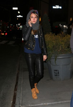 Michelle Rodriguez & Cara Delevigne Run Around NYC After A Few Drinks