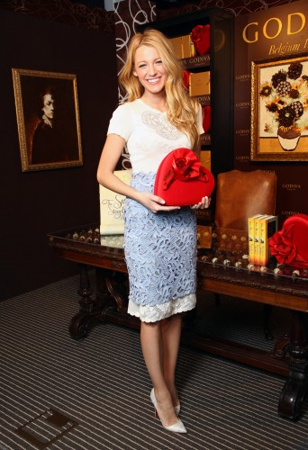 Blake Lively and Nicholas Sparks Unveil the Godiva 2012 Valentine's Day 'Sweetest Story Ever Told' Contest